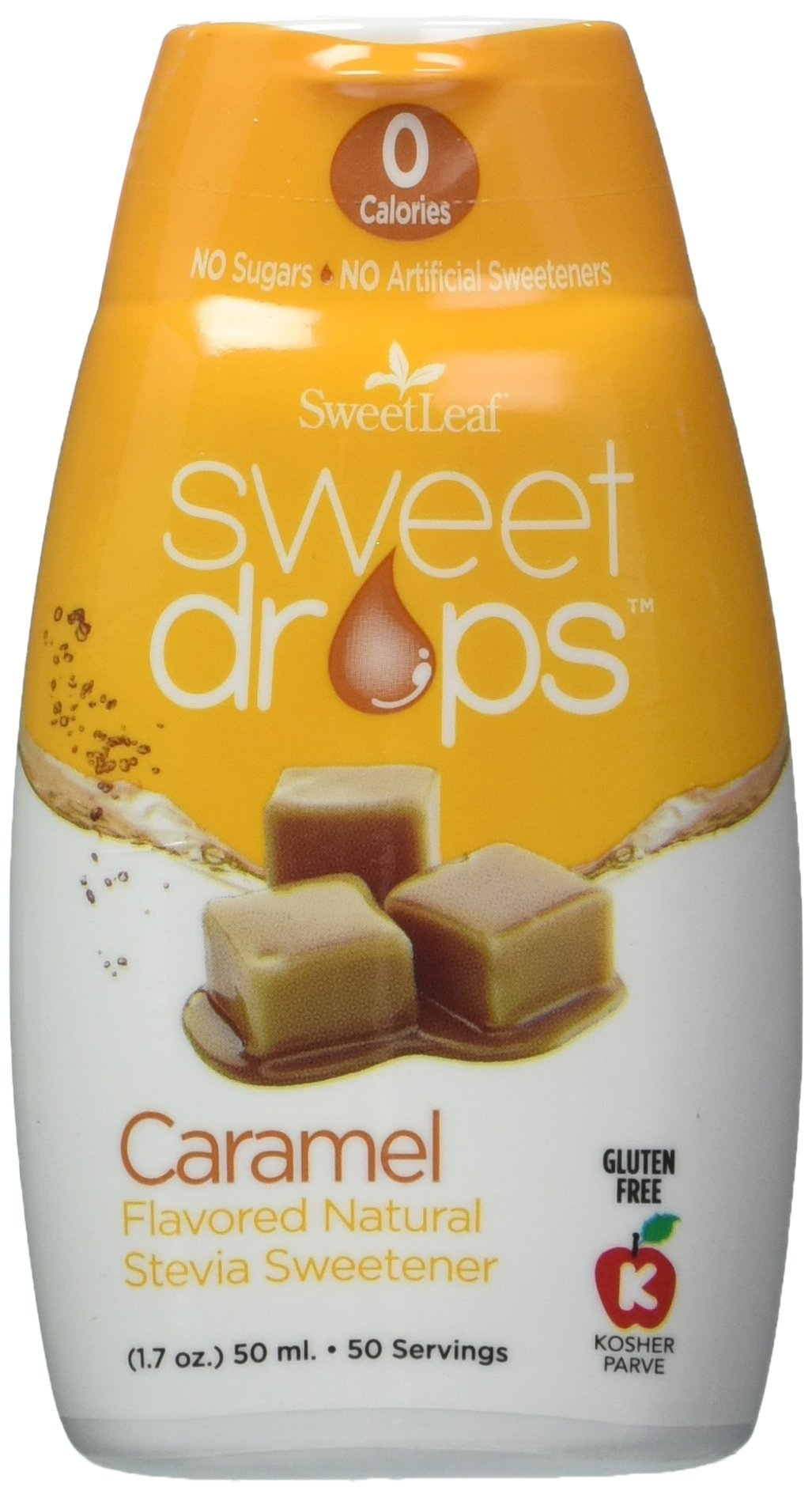SweetLeaf Sweet Drops Liquid Stevia Sweetener, Caramel, 1.7 Ounce