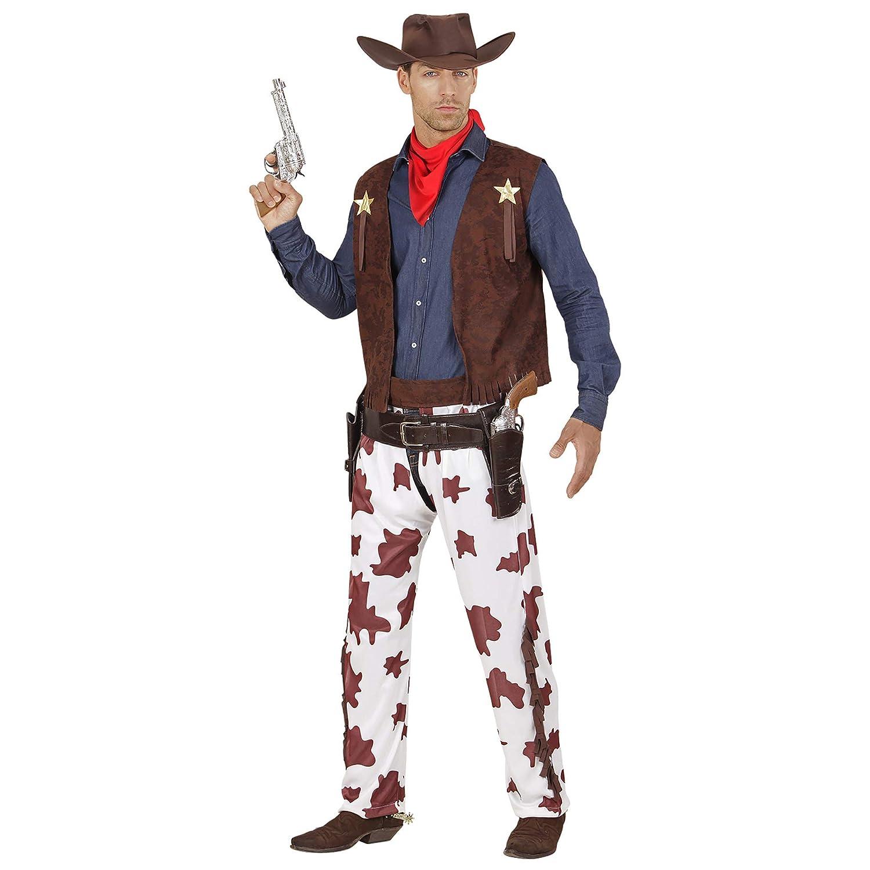 WIDMANN - Disfraz de vaquero para adulto: Amazon.es: Juguetes y juegos