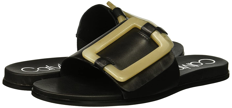 91436ae9fdd6 Calvin Klein Women s Patreece Slide Sandal  Buy Online at Low Prices in  India - Amazon.in