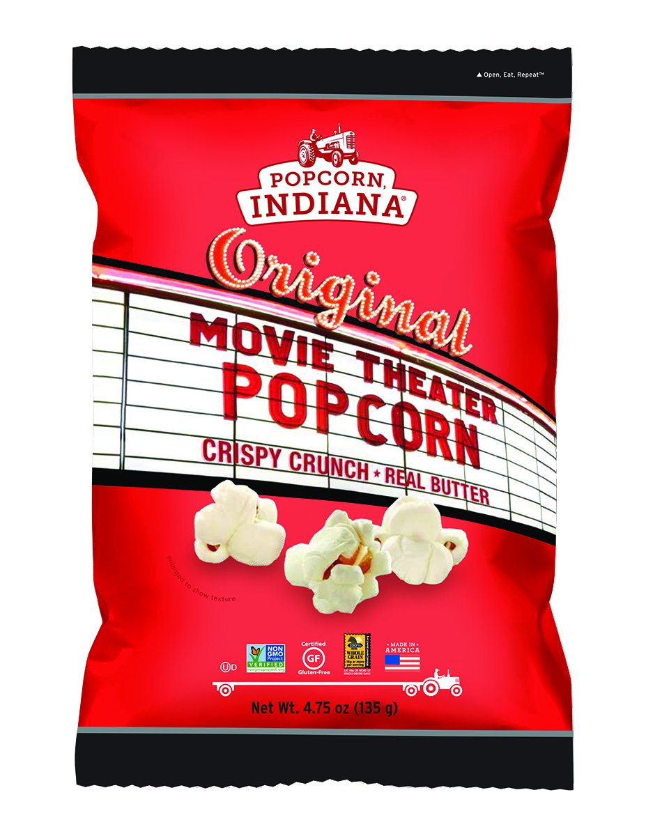 Popcorn Indiana Popcorn, Movie Theater Butter, 4.75 oz