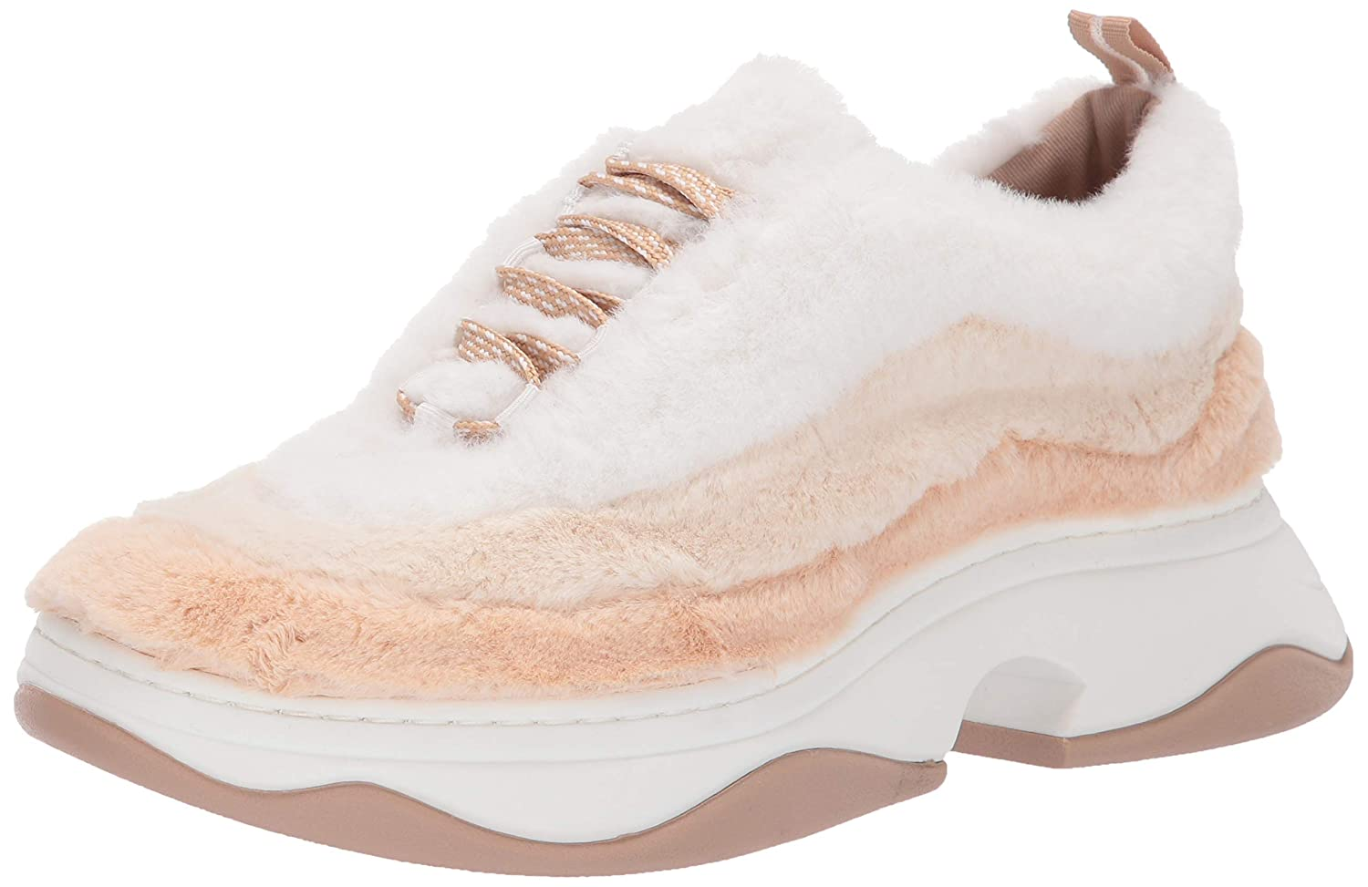Nude Off White Katy Perry Womens The Fuzz Sneaker