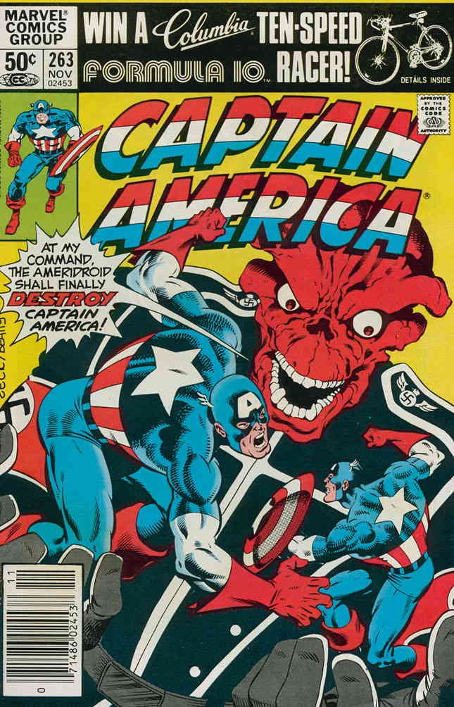 Captain America (1st Series) #263 VF/NM ; Marvel comic book