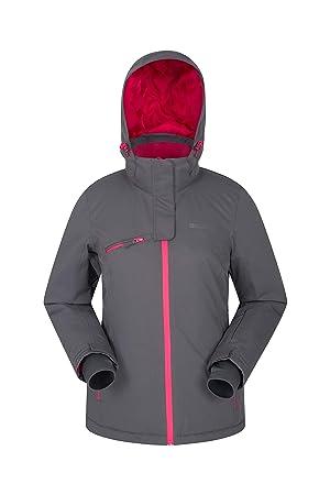 Mountain Warehouse Chaqueta de esquí Freezestyle para Mujer - Abrigo con Aislamiento para Damas, Cálido, Impermeable, Falda de Nieve Desmontable ...
