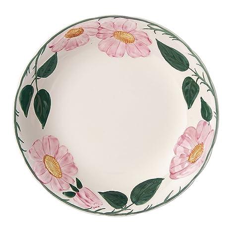 Villeroy & Boch Rose Sauvage Héritage - Plato Hondo (Porcelana Premium, 20 cm)