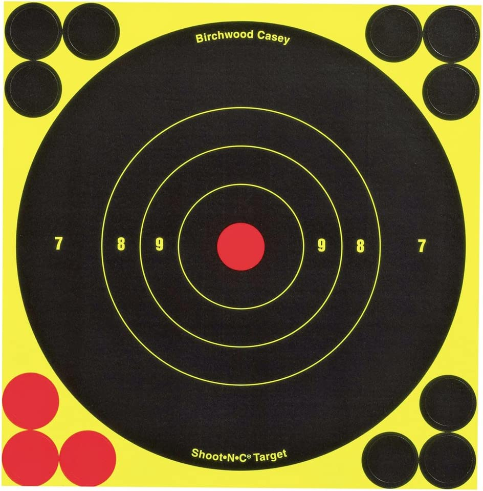 Birchwood Casey Shoot-N-C 6-Inch Round Target (60 Sheet Pack)
