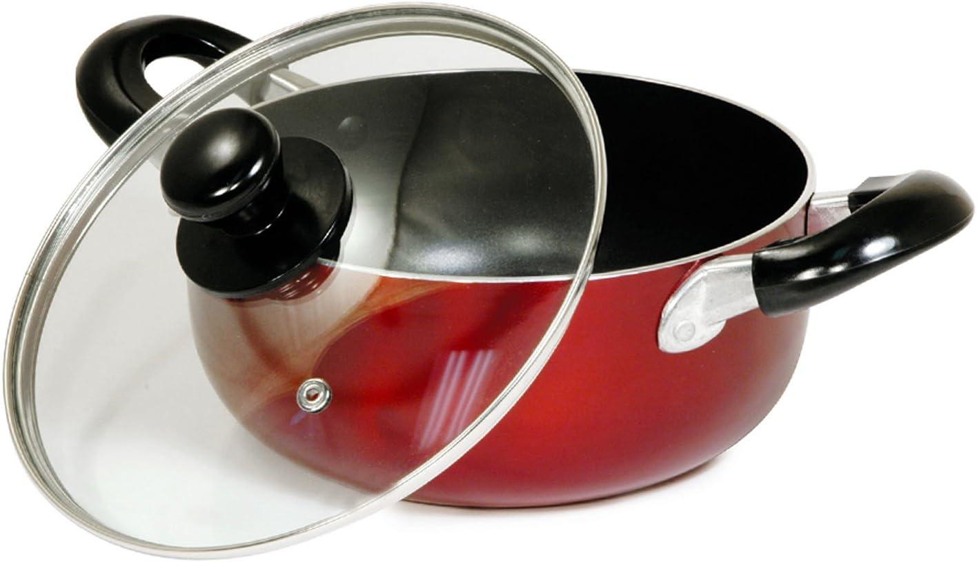 Round Dutch Oven Size: 5 Qt.
