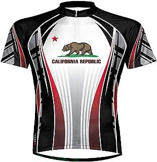 World Jerseys Mens California Republic Cycling Jersey