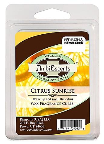 Citrus Sunrise Fragrance Cubes - BedBathandBeyond.com
