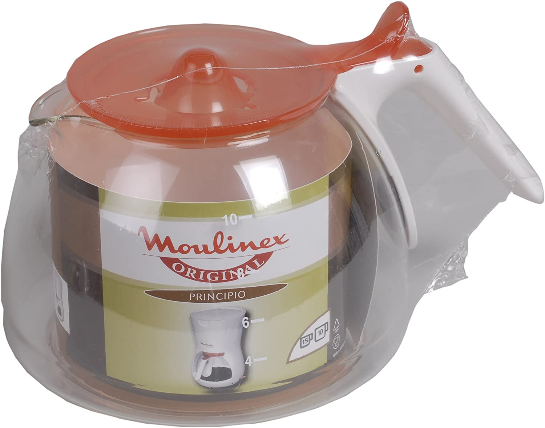 Moulinex fh221000 jarra blanca/naranja principio 2: Amazon.es: Hogar