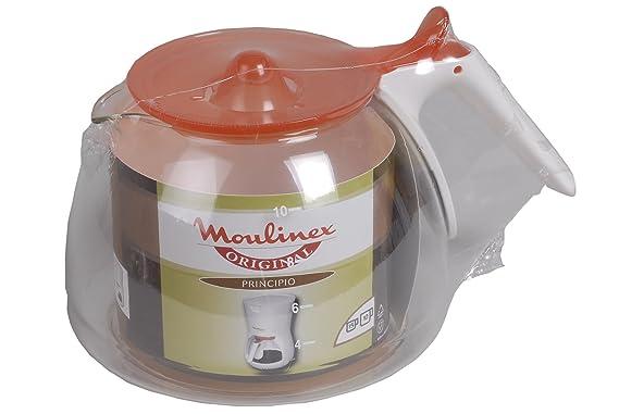 Moulinex fh221000 jarra blanca/naranja principio 2: Amazon ...