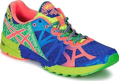 Asics - Zapatillas asics noosa tri 9 para hombre, talla 49, color verde / azul / neoncoral: Amazon.es: Zapatos y complementos