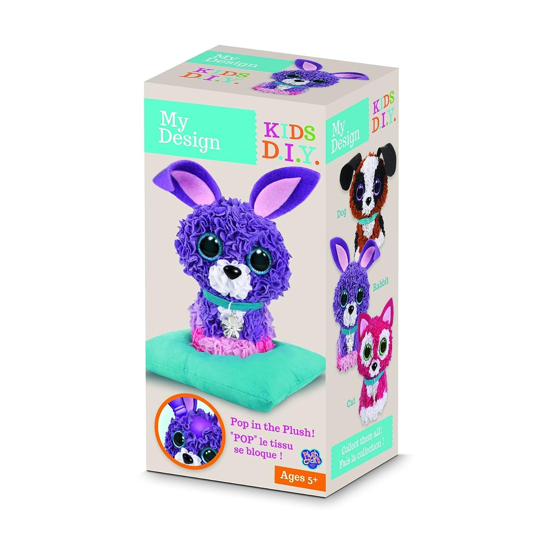 Craft Felpa Bunny 3D Creative Recreation Kit 73718 Orbe Orbe de f/ábrica