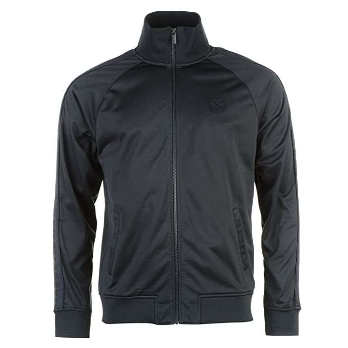 a760e4da3416 Firetrap Mens Track Jacket Tracksuit Top Coat Zip Full Warm  Amazon.co.uk   Clothing