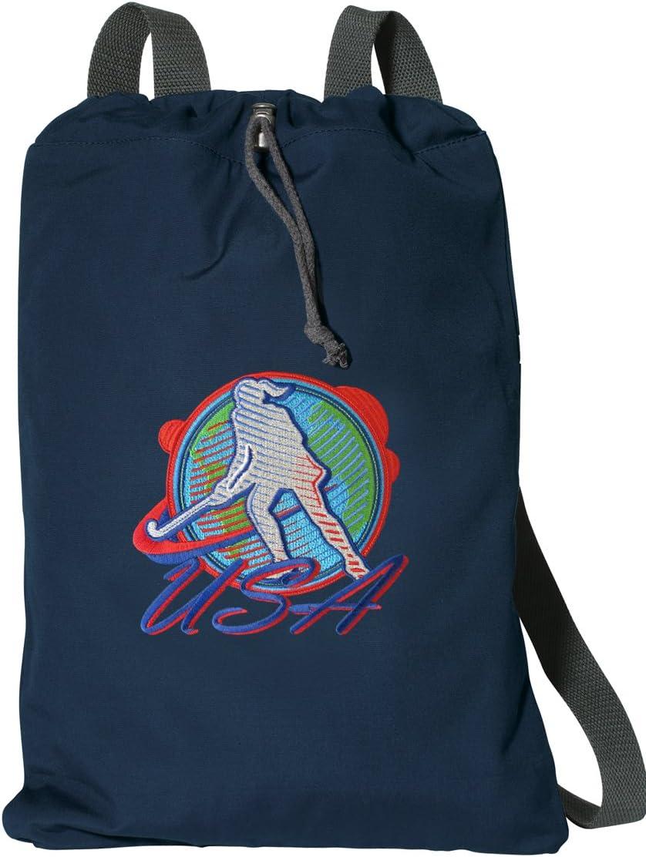 Field Hockey Drawstring Backpack RICH COTTON US Field Hockey Cinch Bag