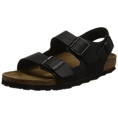 Birkenstock Men's Slingback Sandals, Black, 13.5 UK Narrow | Sandals
