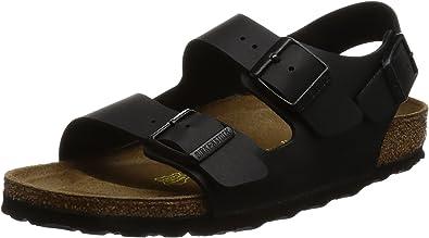Birkenstock Men's Milano Sandals 45 Black