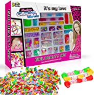 3 Bees & Me Complete Bracelet Making Kit for Girls - Bead Jewelry Making Kit for 6 7 8 9 Years Old