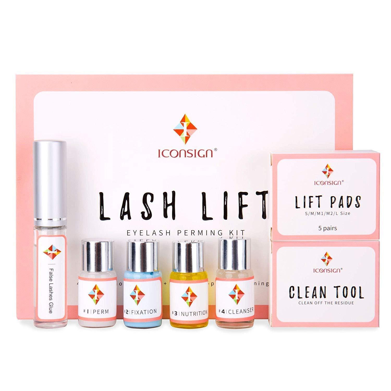 Lash Lift Kit Eyelash Perm Kit Cilia Extension Suitable For Salon For Professional Use eyelash lift ki by ICONSIGN (Image #1)