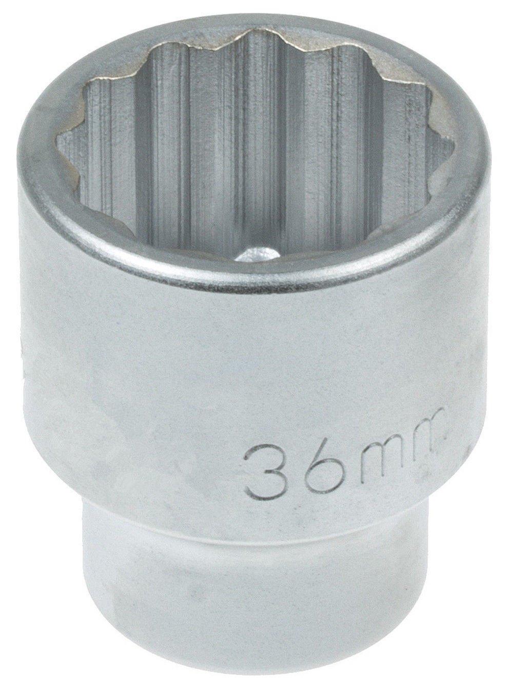 Jumbo Stecknuss f/ür Schl/üssel 3//4 1 Antrieb 17~75 mm metrisch MM 12-kant Nuss 36mm