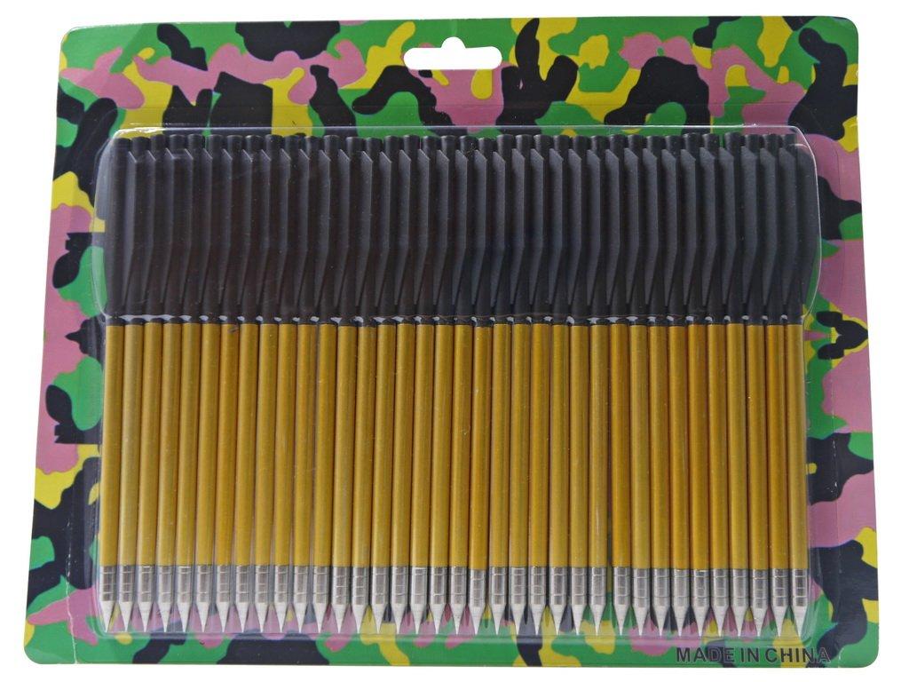S-TEC High Impact Aluminum Arrow Heads and Bolts (36pc Aluminum Bolts)