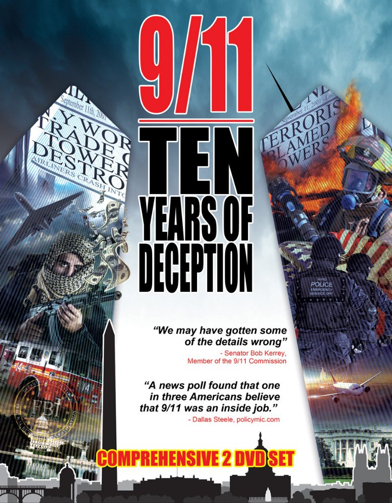 DVD : 9 /  11: Ten Years Of Deception - Terrorism And Lies (DVD)