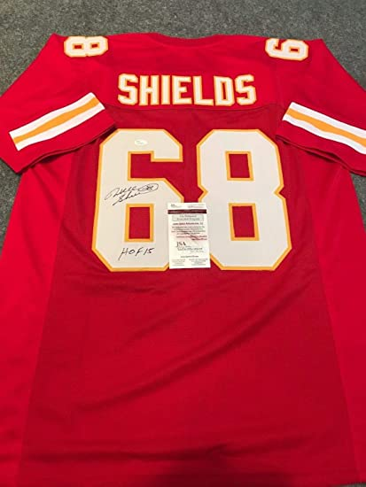 Will Shields Autographed Signed Inscribed Kansas City Chiefs Jersey - JSA  Authentic ef18a5788