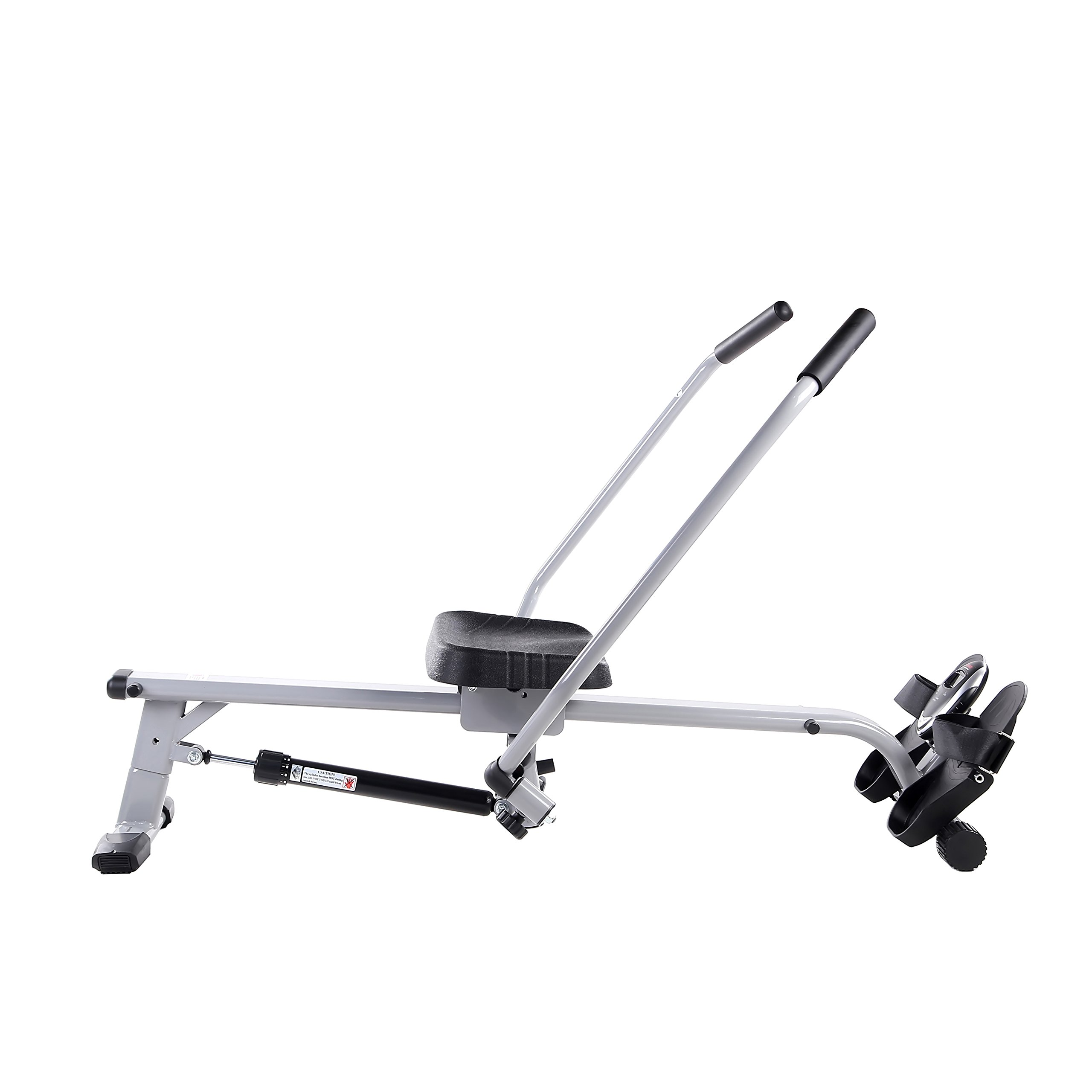 Sunny Health & Fitness SF-RW5639 Full Motion Rowing Machine Rower w/ 350 lb Weight Capacity and LCD Monitor by Sunny Health & Fitness (Image #12)
