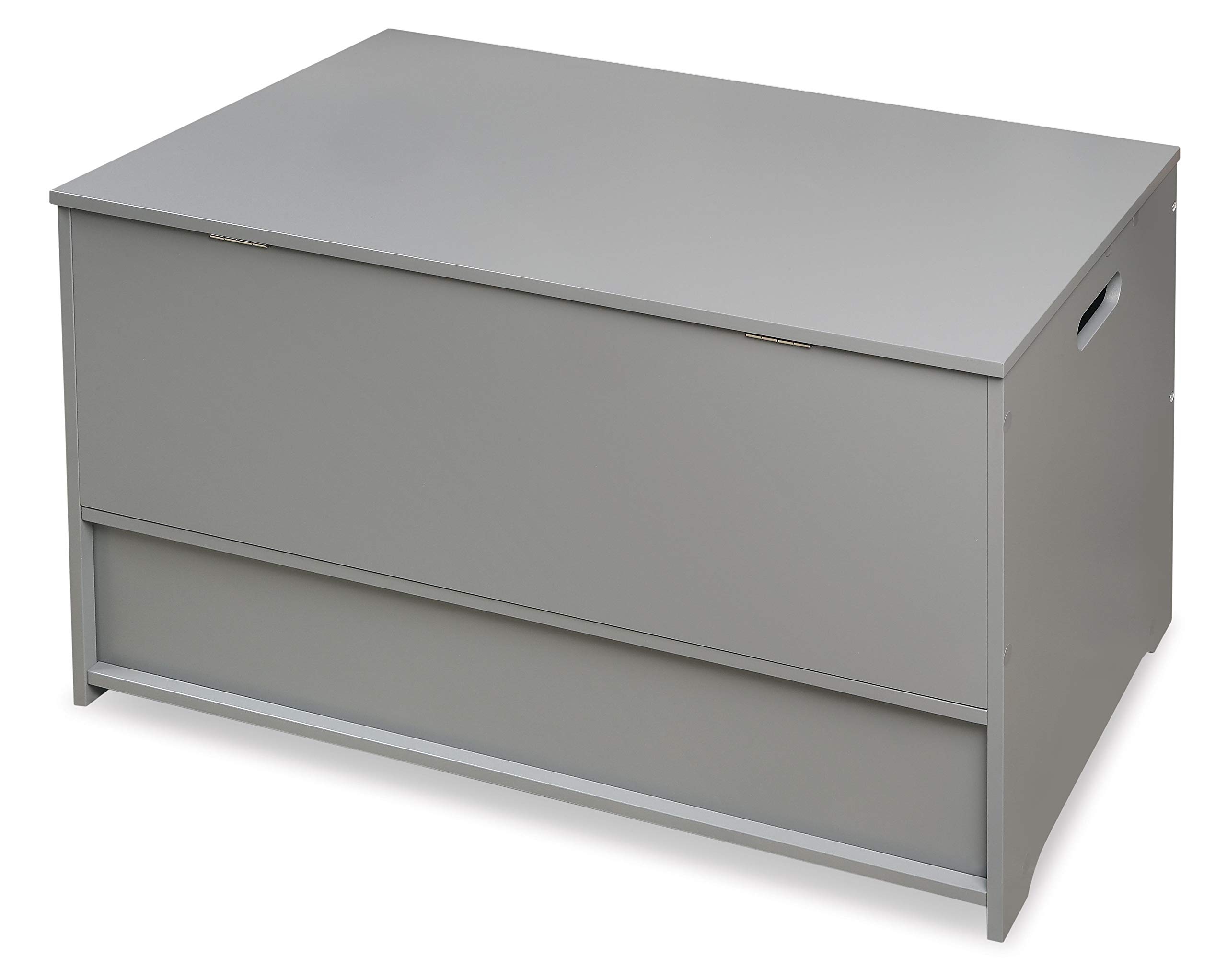 Badger Basket Up and Down Toy and Storage Box with 2 Basket Drawers, Gray/White by Badger Basket (Image #6)
