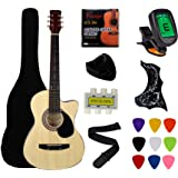 Fever (フィーバー) 3/4 Size アコースティックギター 38 Inches Red FV-030-RD アコースティックギター