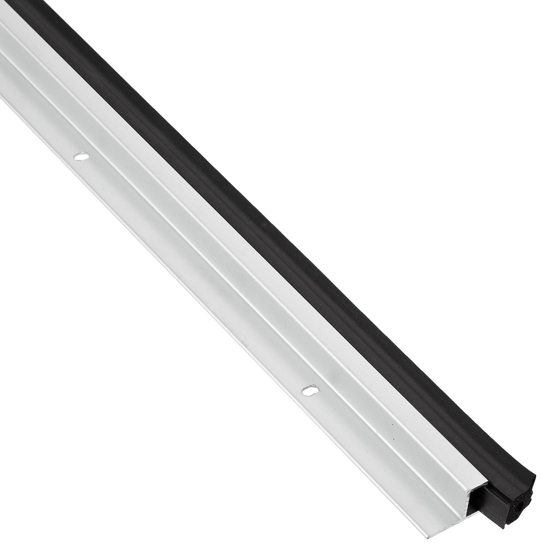 Clear Anodized Aluminum with Black Sponge Neoprene insert Pemko Standard Perimeter Gasketing 285CR36 0.687 W x 1.5 H x 36 L 0.687 W x 1.5 H x 36 L Pemko Manufacturing Company Inc