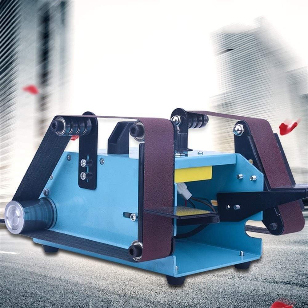 Electric Sander Including For Furniture Finishing,950W Desktop Multifunction Sander Double Head Belt Sanding Grinding Mach Detail Sander Compact Sander Machine For Wood Sanders With Dust Collection