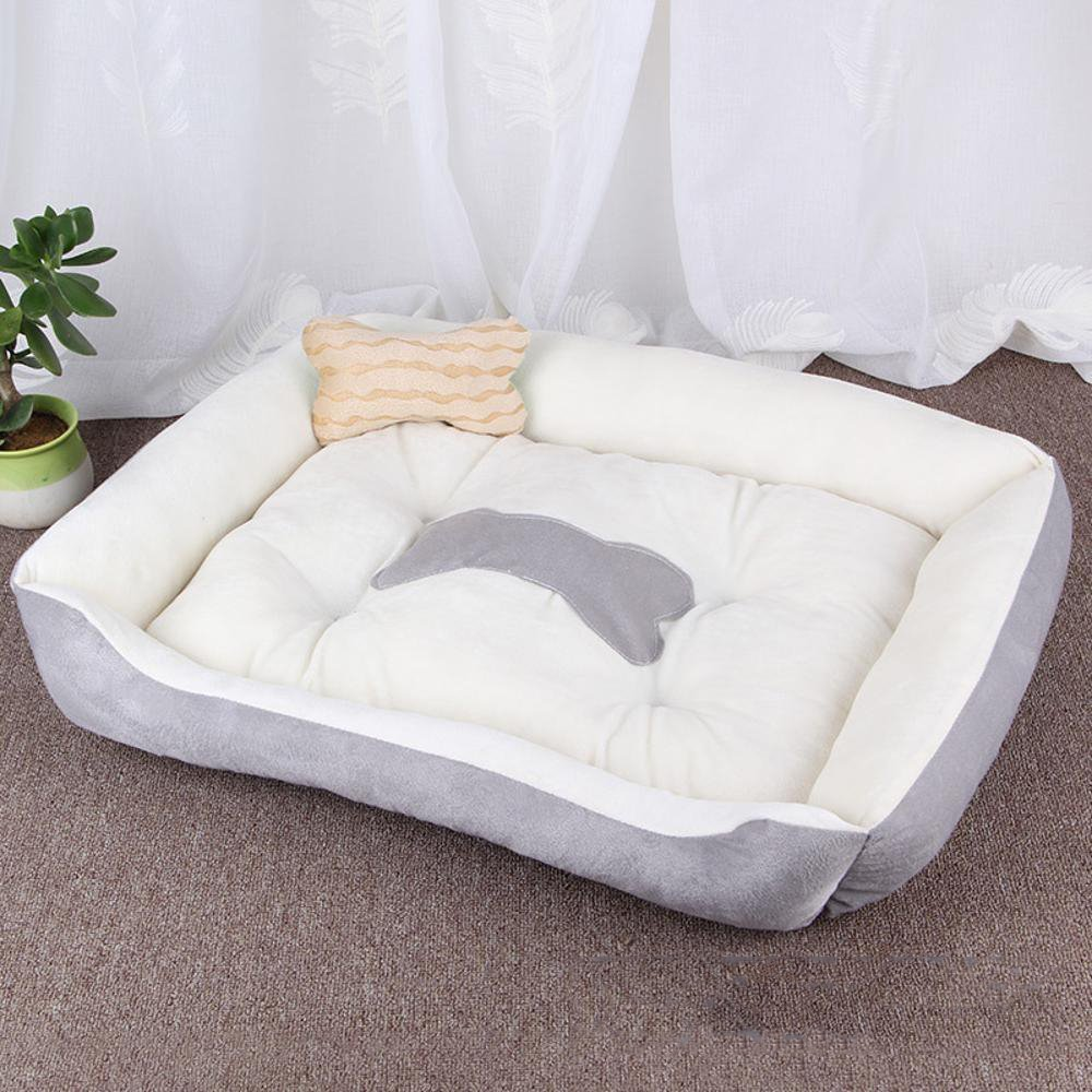 B 705015cm B 705015cm Lozse Pet Beds Pet Large kennel Cat nest warm Four Seasons pet mat for Dogs and Cats Sleeping Cushion
