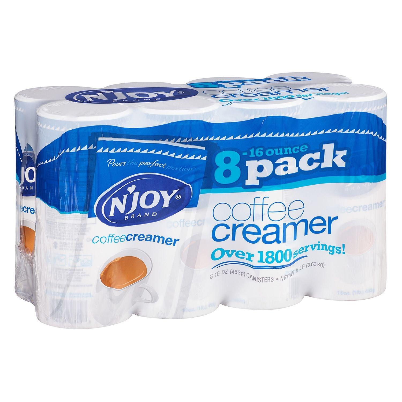 N'Joy Coffee Creamer (16 oz., 8 pk.) pack 3