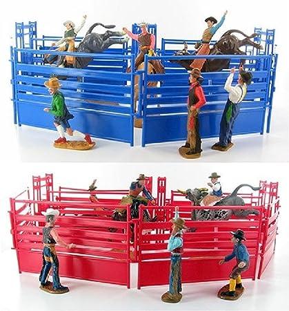 NewRay Western Rodeo Playset