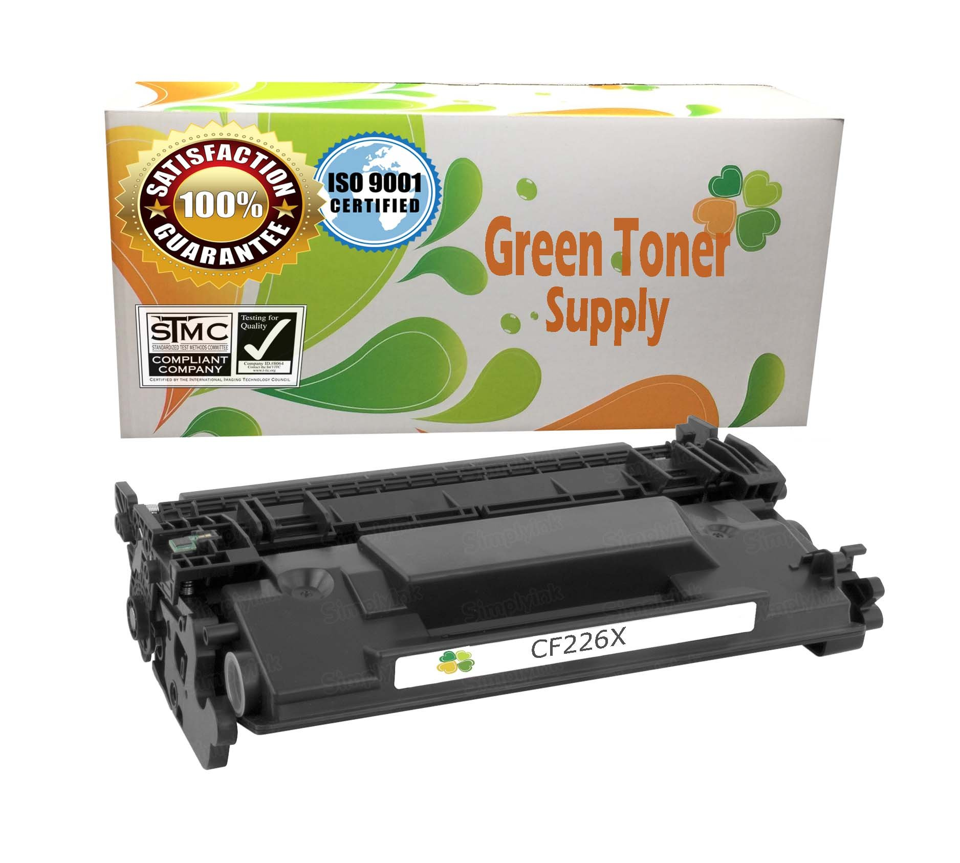 GTS Compatible Toner Cartridge Replacement for HP CF226X ( Black )