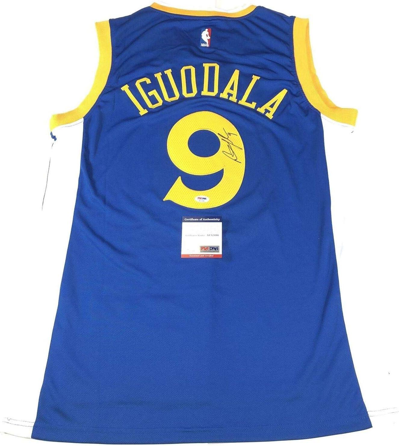 Andre Iguodala Signed Jersey PSA/DNA Golden State Warriors ...
