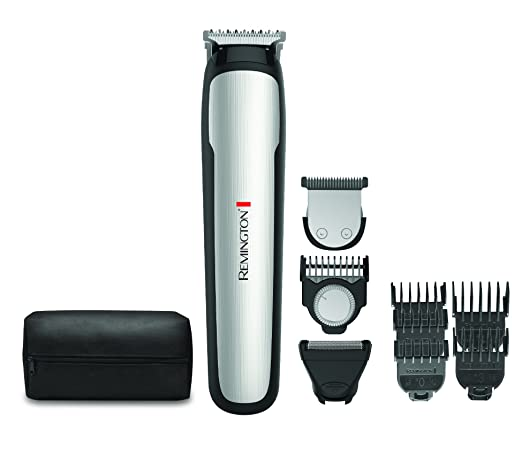 Remington MB4900 Beard Boss Perfecter Stubble and Beard Kit, Trimmer (9 pieces)