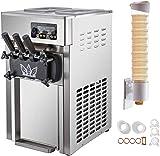 VBENLEM Commercial Soft Serve Ice Cream Maker