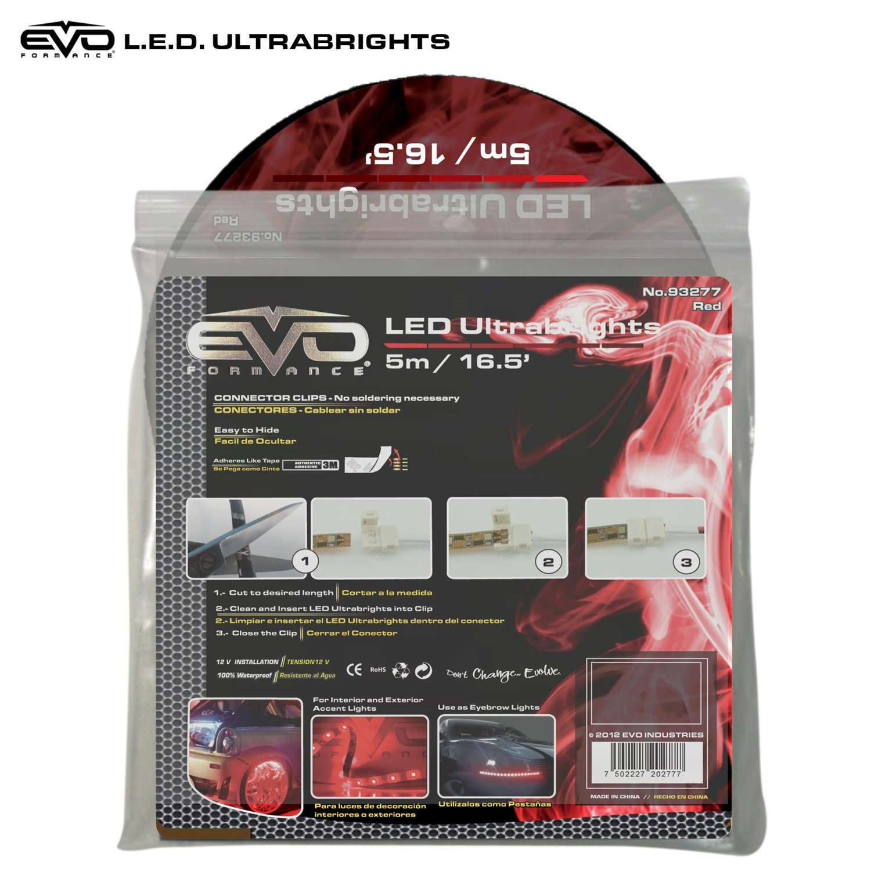 Amazon.com: CIPA 93277 EVO Formance LED Ultrabrights Light, Red: Automotive