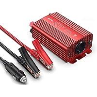 BESTEK Inversor Onda Pura 300W, Inversor de Corriente 12v a 220v para Coche con 2 USB Puertos 4,2A y 1 Toma de AC para…