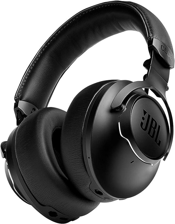 JBL CLUB ONE Auriculares bluetooth OverEar e inalámbricos con cancelación de ruido, batería de hasta 45h, color negro
