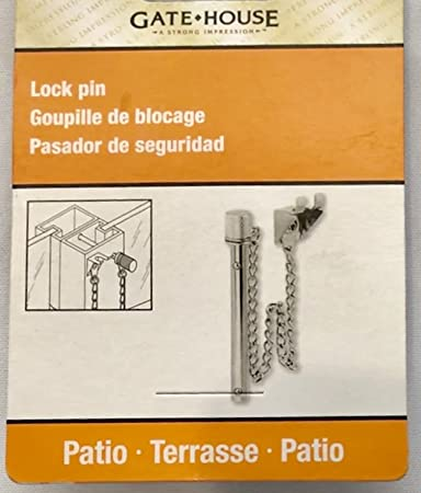 Gatehouse Patio Door Lock Pin