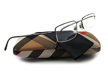 302f1bb2e531 Amazon.com  BURBERRY 1068 Dark Brown 1031 Optical Eyeglasses Frame ...