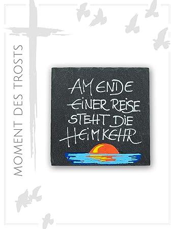 Placa de pizarra para regalo de luto con frase de luto y símbolo ...