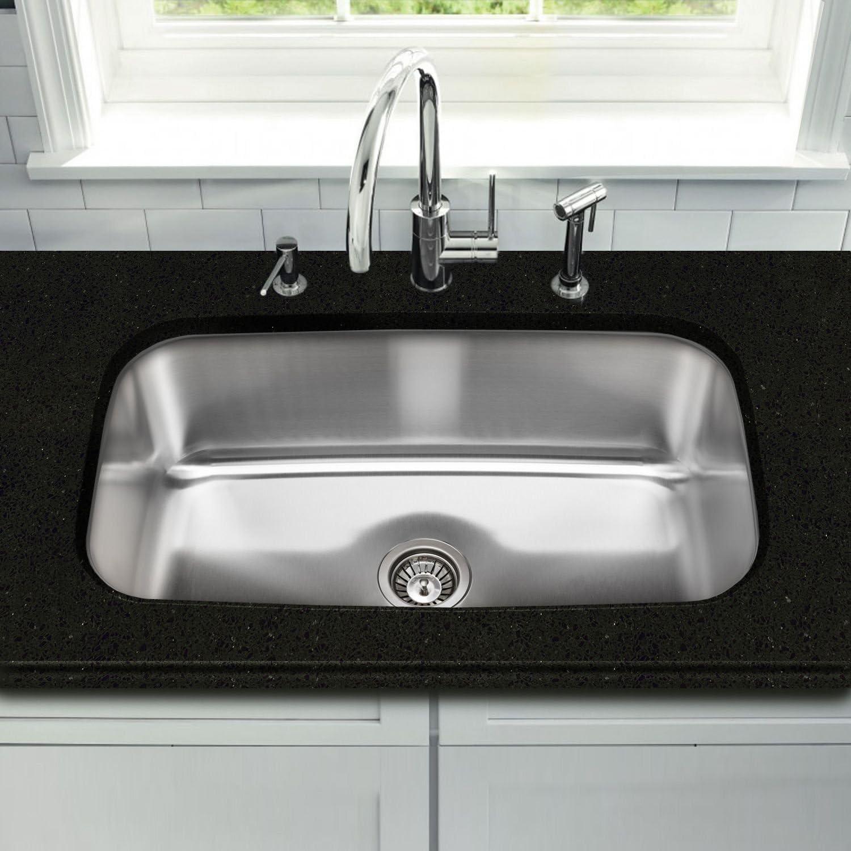 Stahl Stainless Extra Large Single Bowl Kitchen Sink Amazon Co Uk Diy Tools