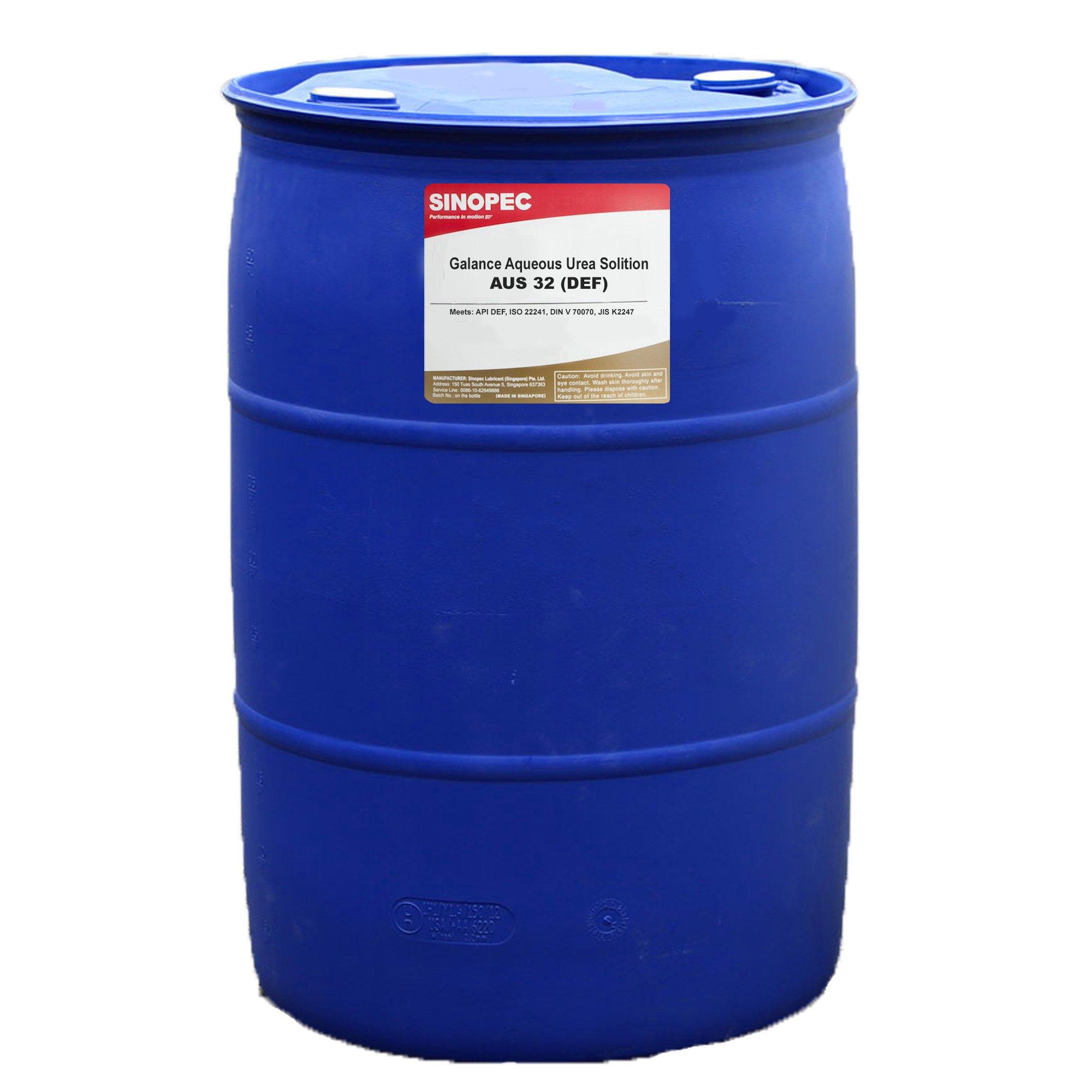 DEF Diesel Exhaust Fluid - 55 Gallon Drum by Sinopec
