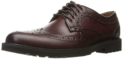 Dockers Men's Benfield Oxford, Burgundy, ...