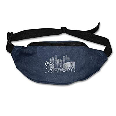 RexStrachey City Funny Mens Womens Waist Pack For Running And Cycling-Lightweight For Travel Cashier's Bag, Waist Bag delicate