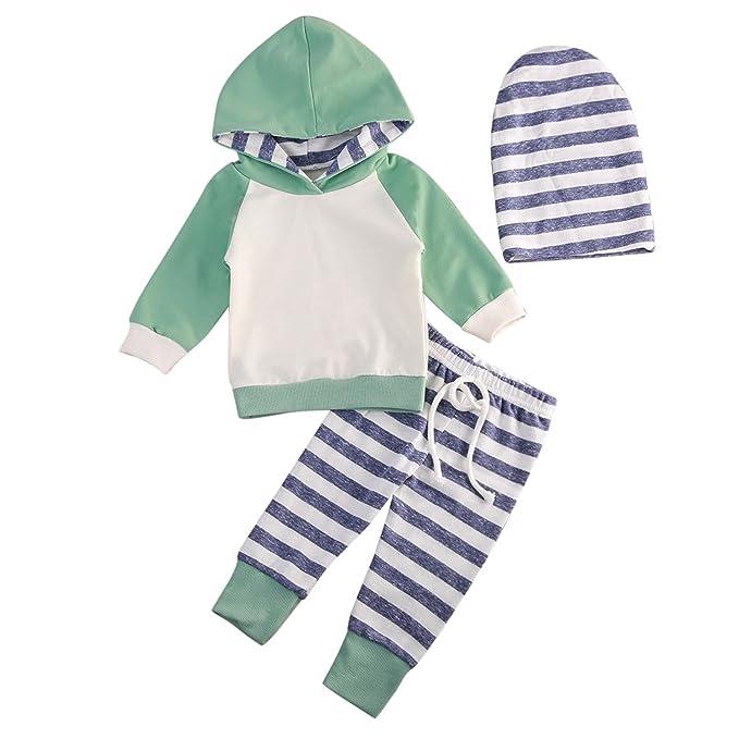 De feuilles Baby Pullover 3 Stück Kind Bekleidungsset Mädchen Shirt ...
