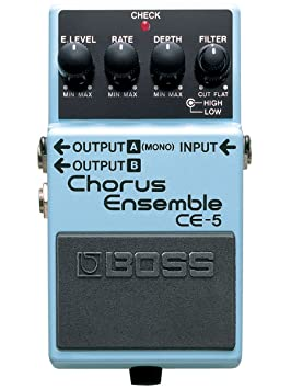 BOSS CE-5 Chorus Ensemble Roland - Pedal guitarra: Amazon.es: Instrumentos musicales